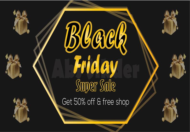 I will make premium social media design for Black Friday