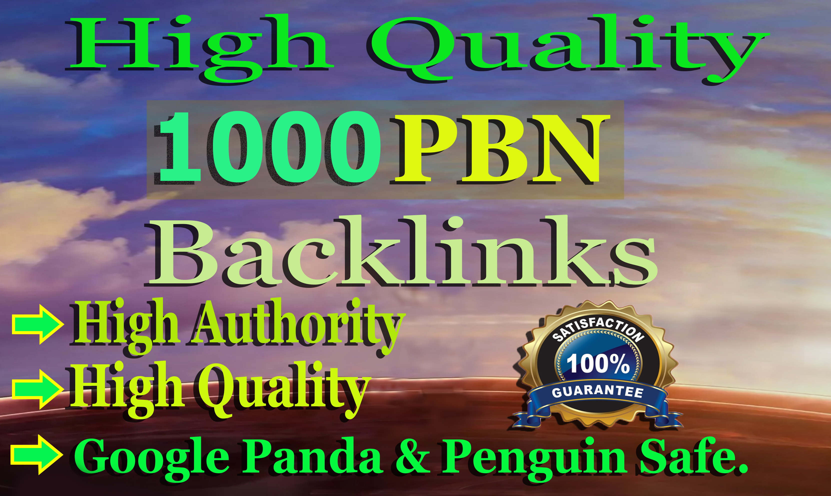 I will 1000 Web2.0 PBN Backlinks to Boost your Website