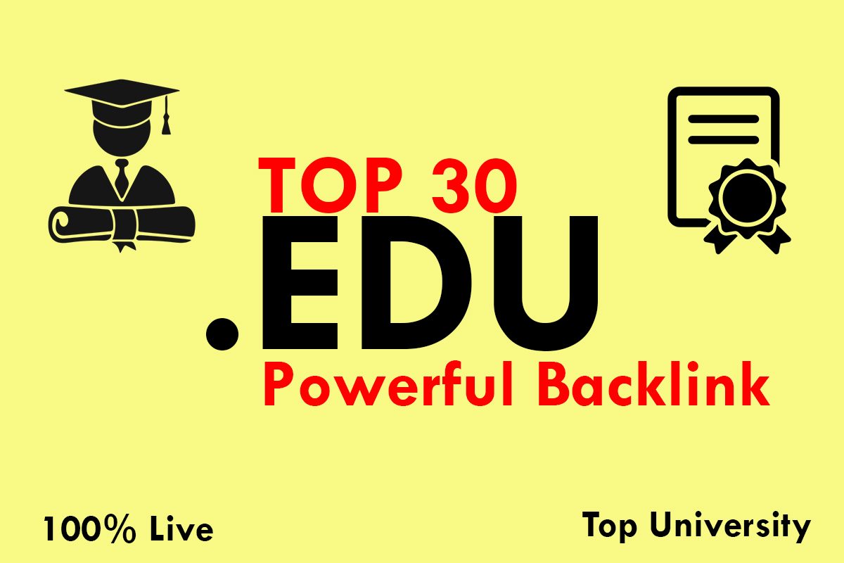 Boost your site with High quality Do Follow Edu Back-link