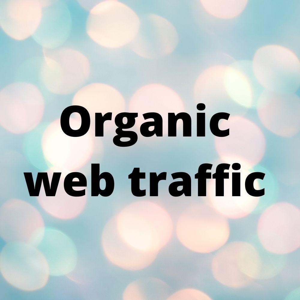 I will drive organic UK traffic And search traffic using keywords