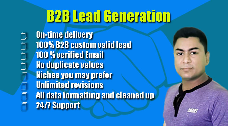 I will Provide 200 Real,  Active and Verified GEO Targeted Lead