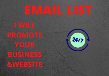 I will create 5k USA tergeted email list in 24 hr
