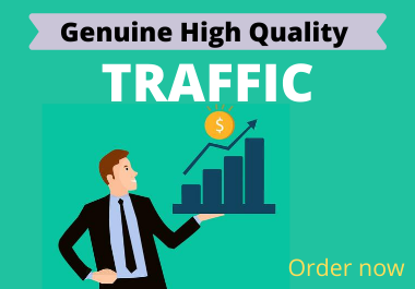 Unlimited and real high quality website TRAFFIC for 1 month