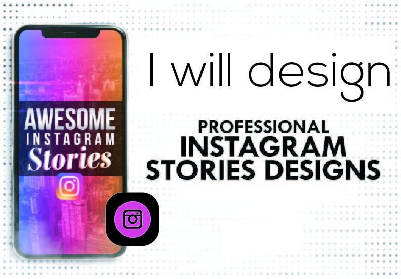 I will design eye catching Instagram story