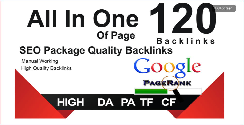 All In One 120 Manual Backlinks EDU,  Web2.0,  Profile,  Wiki,  Bookmark Backlinks