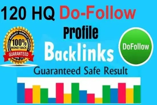 Build Up 120 Home Page Backlinks All Dofollow High Quality Backlinks.