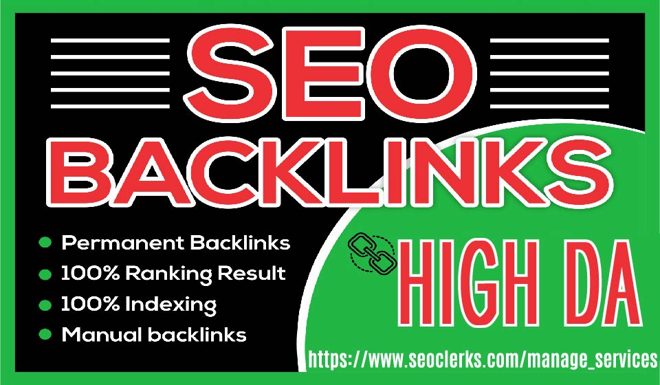 Build Up 200 High Authority Dofollow Contextual Backlinks Off Page SEO White Hat Manual