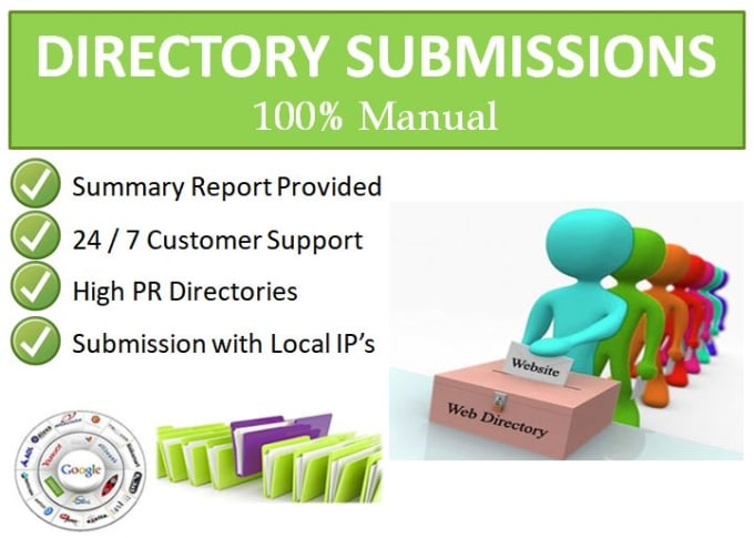 I will do build local citation and directory submission upto 100 sites