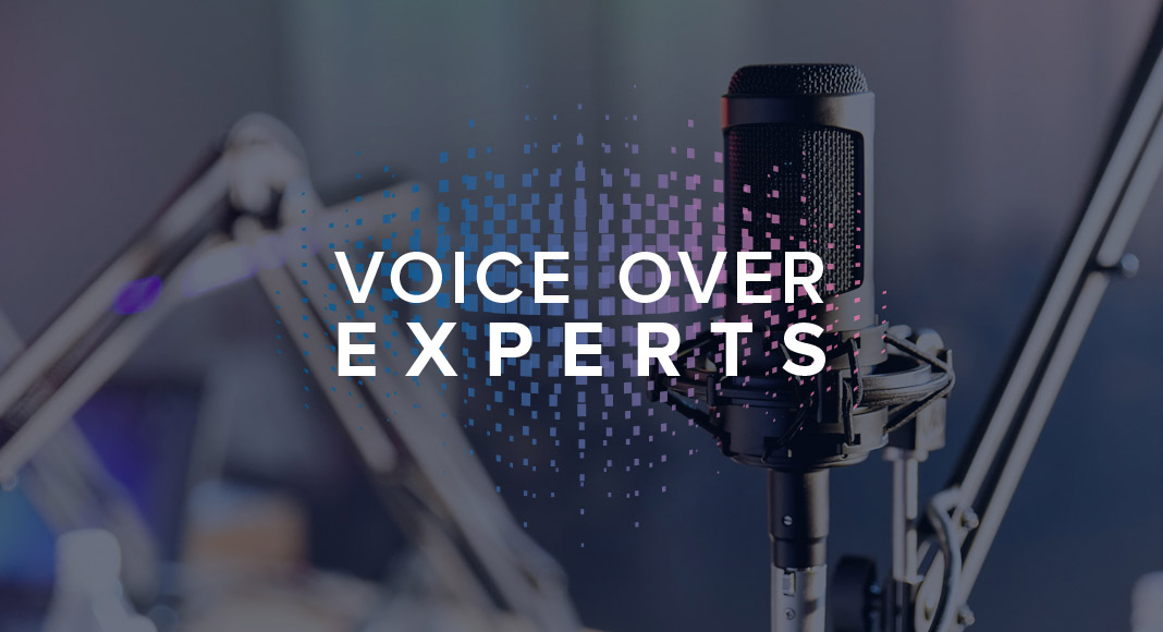 I am good at working with voiceover.