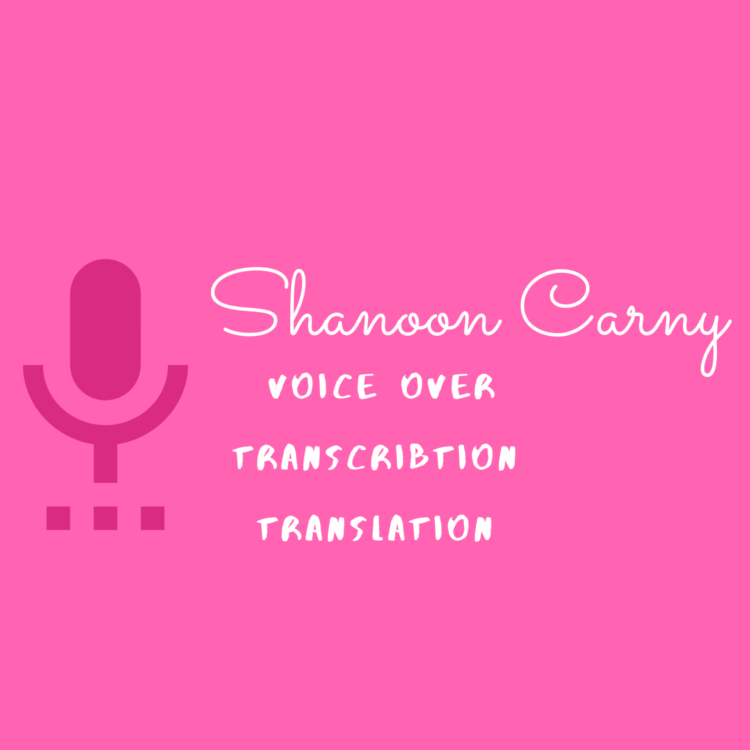 Voiceover in French and German