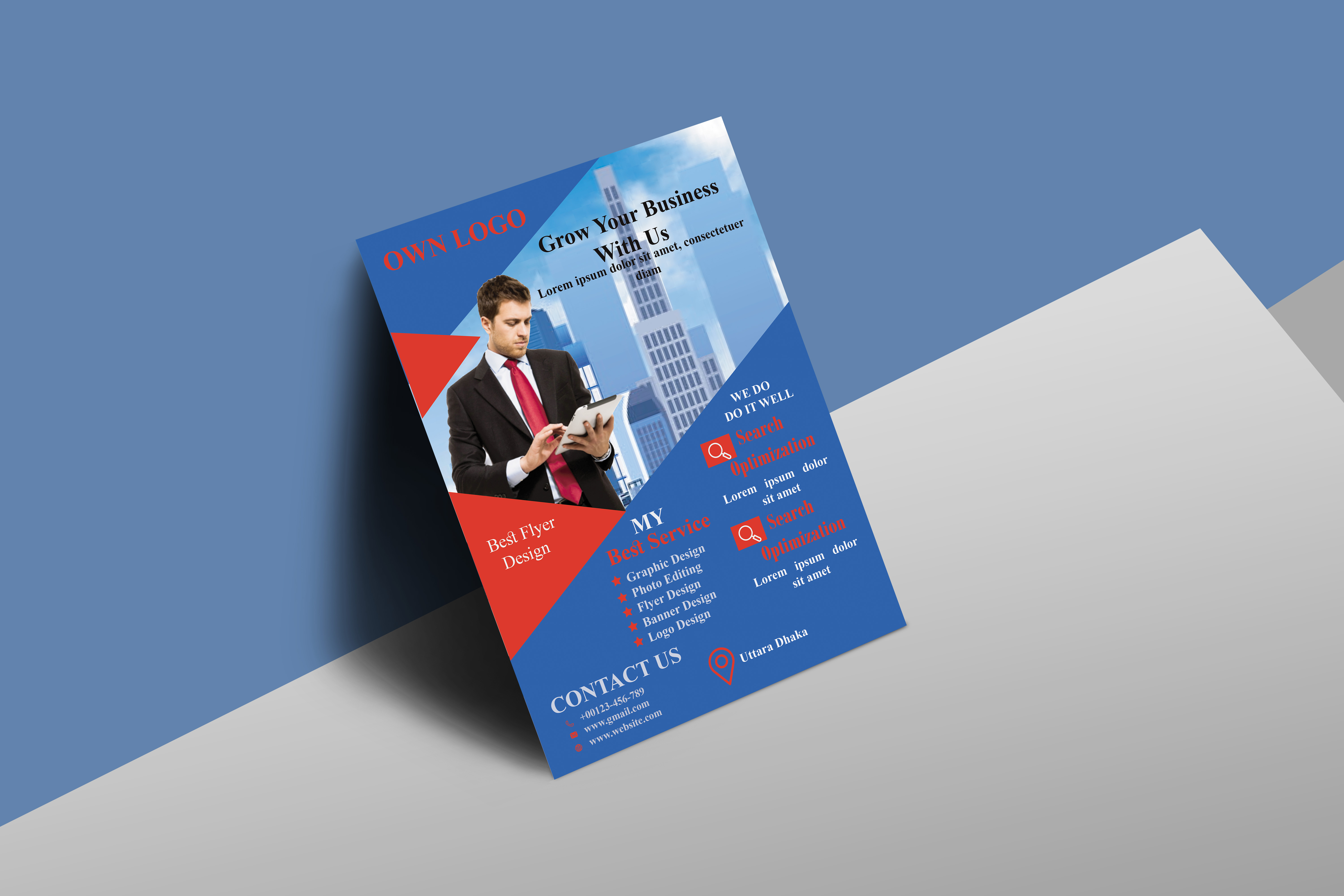 I Will do corporate flyer design for you 24 hours