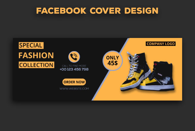 I will desing facebook cover for you within 8 hours