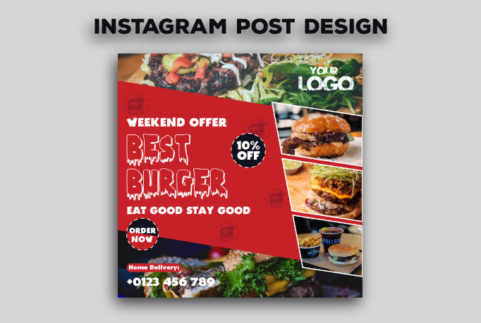 I will design Instagram Post for you within 8 hours