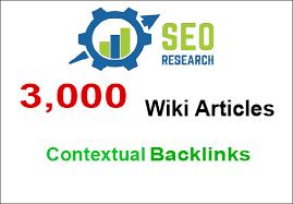 Create 3000+ Contextual Wiki Backlinks