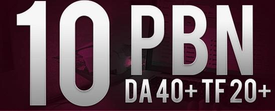 Buy 2 PBN - Get 1 Free Create 10 High Quality PBN back link DA40+ TF20+
