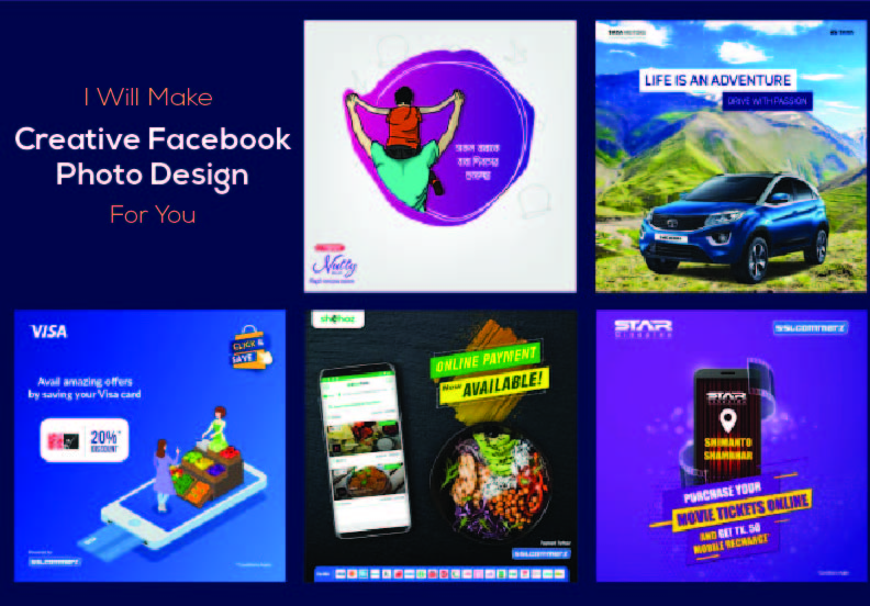 I will make Creative Facebook post design for you