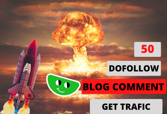50 Dofollow Blog Comment on High DA website