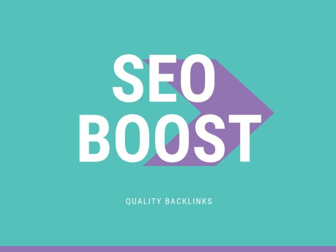 I will create 130 high da authority SEO backlinks, link building