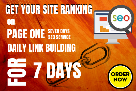 Weekly White Hat Backlinks Services - Daily Link Building