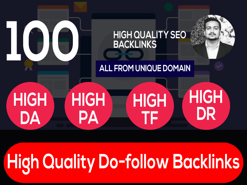 i can manual Build 100 web 2.0 and Dofollow with high DA/PA in your webpage with unique website