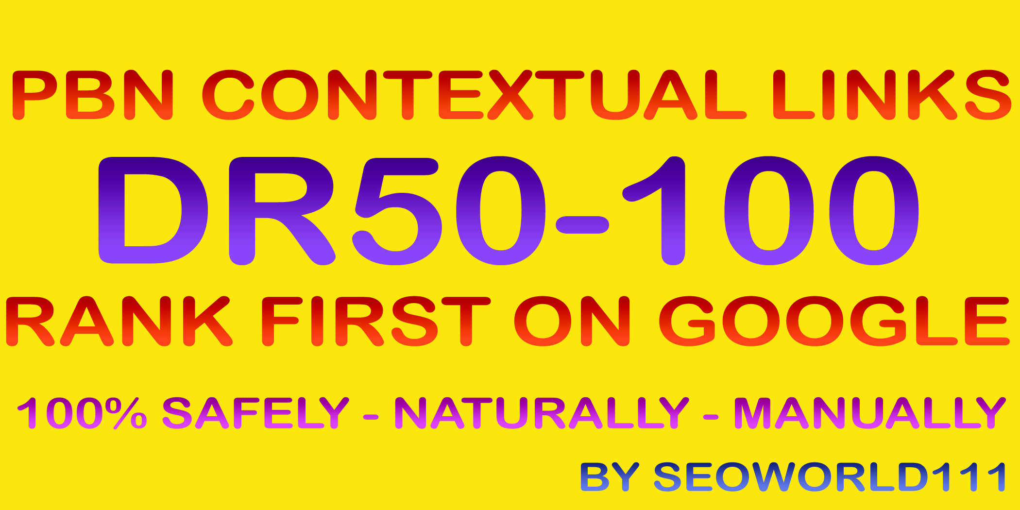 Dofollow 18 PBN Contextual Links DR50-100 - Rank First On Google
