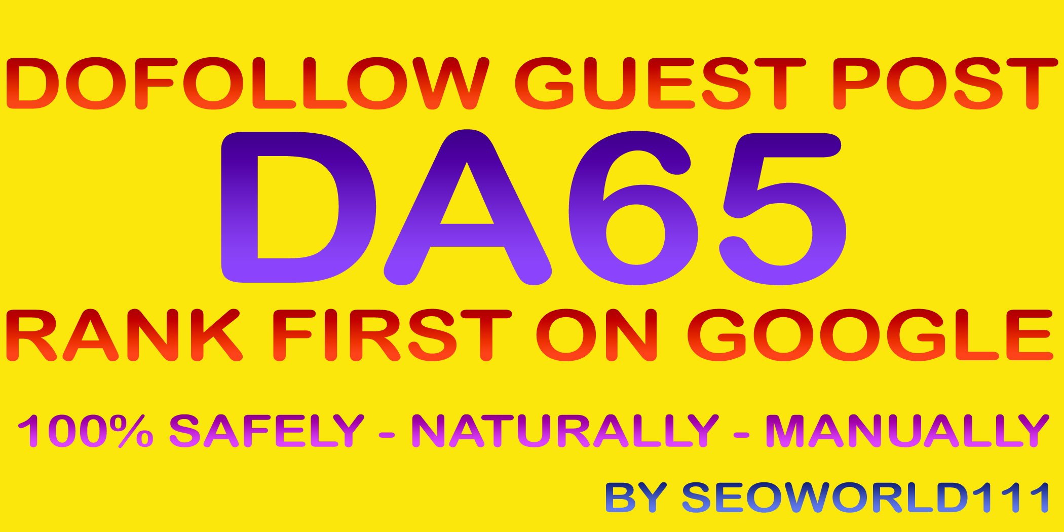 Write and Publish 3 Guest Posts on DA50-65 Real News Blogs - All Niche Accept