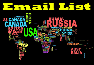 I will provide 2k niche targeted email list