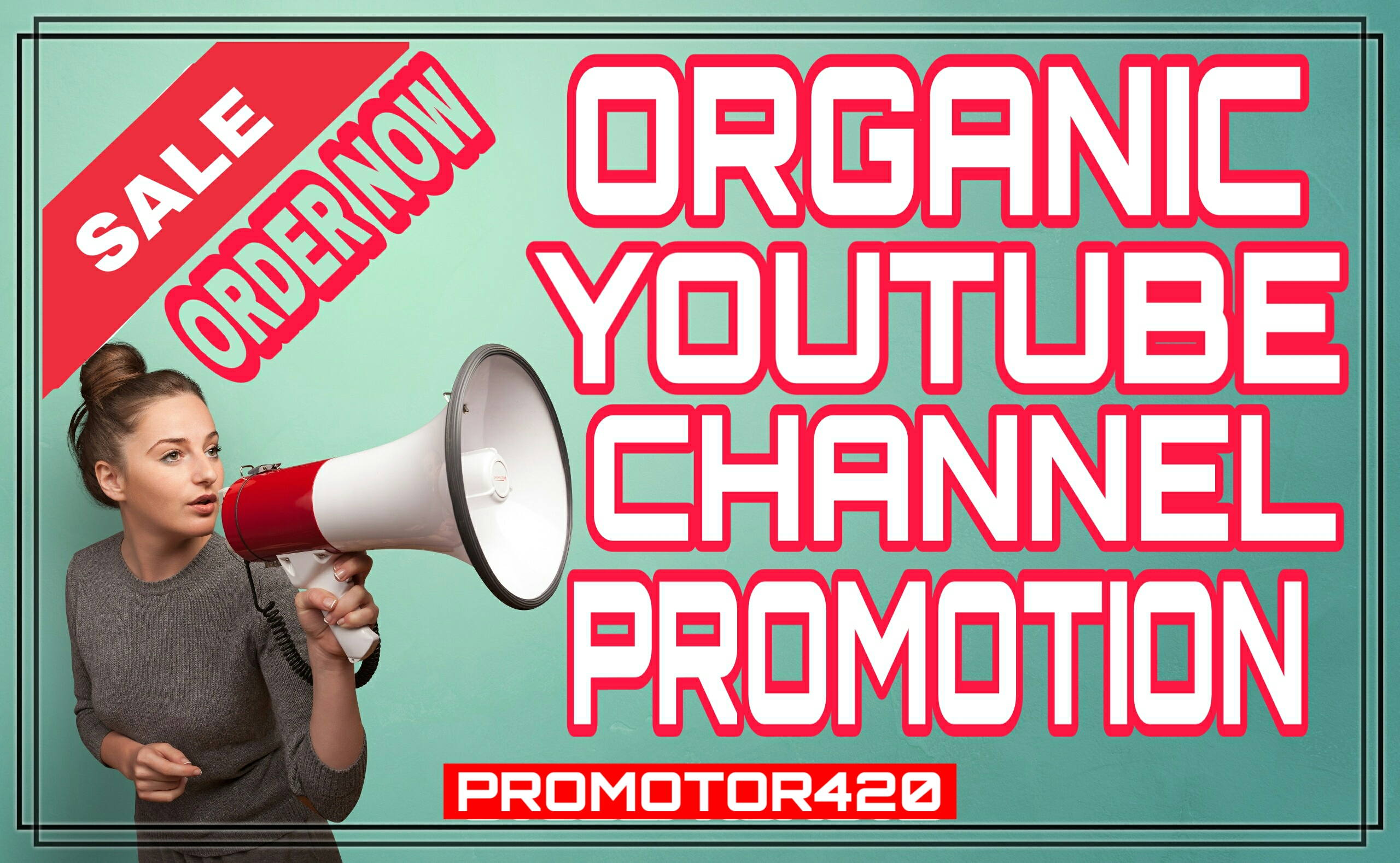 Real & Active user's youtube promotion and marketing manually