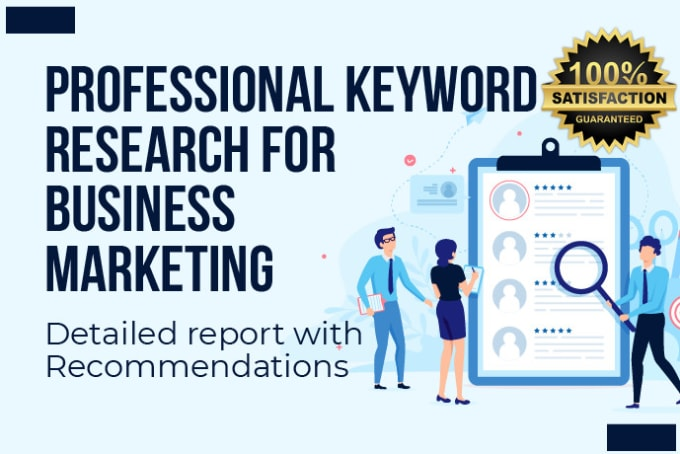 I will do Niche or Local Business Key word Research