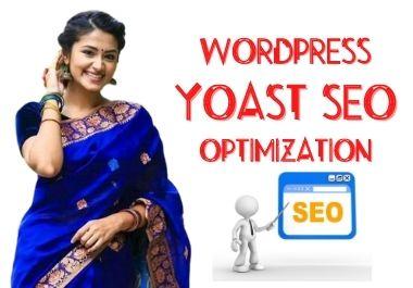 I will do complete wordpress yoast SEO on page optimization