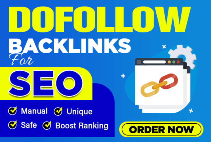 I will make 500 high quality dofollow backlinks off page seo