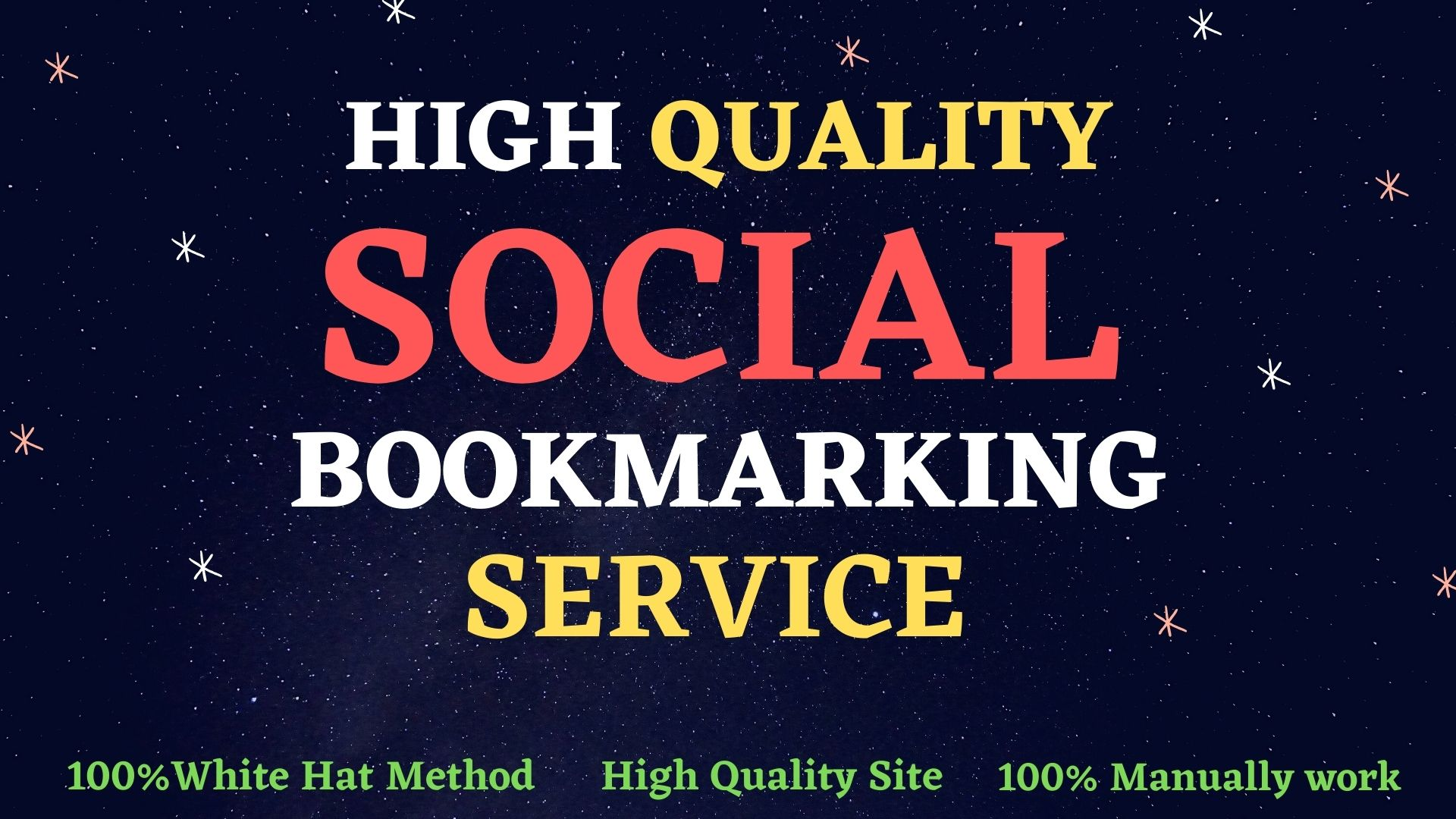 I Will Create 50 Social Bookmarks SEO backlinks for site ranking