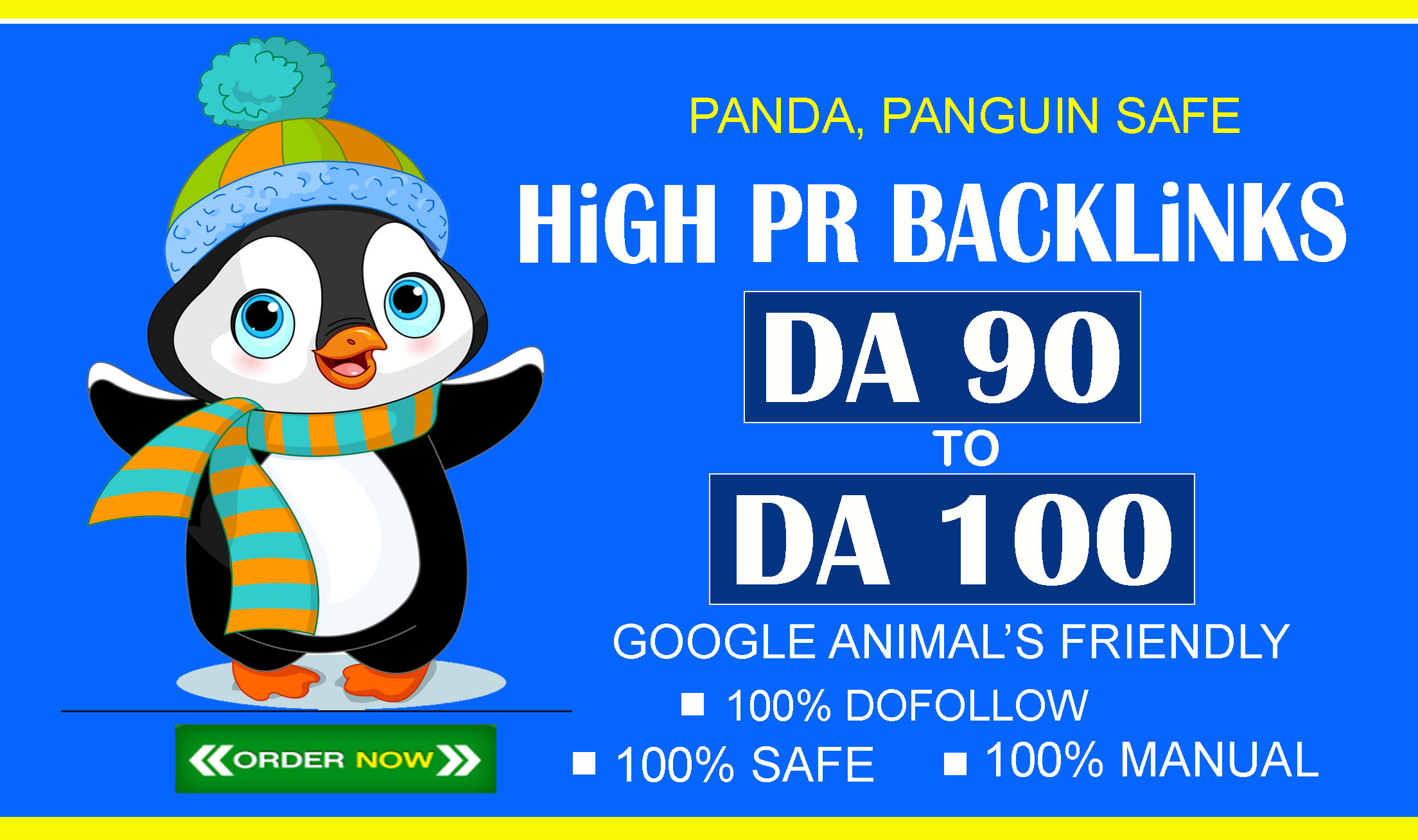 I will do 60 permanent high PR SEO dofollow backlinks