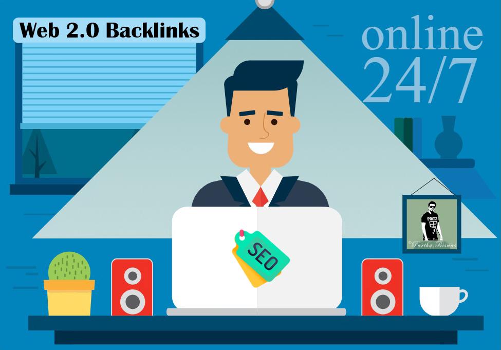 I Will Manually Create 20 High Quality Web 2.0 Backlinks