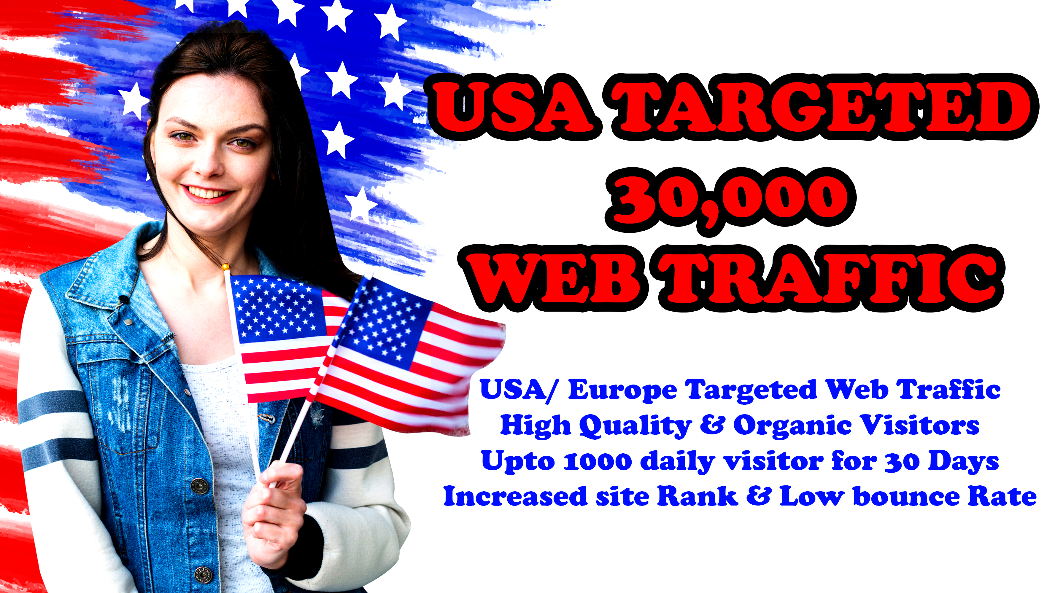 30,000 USA/UK High Quality Ranking Website Traffic