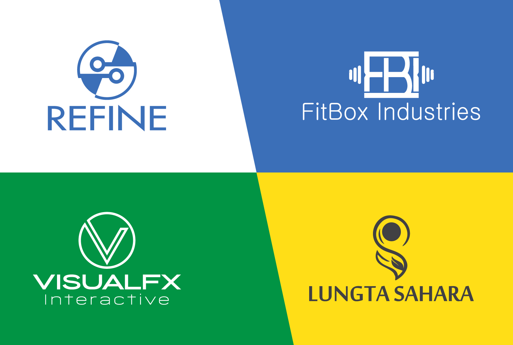 I will do modern business logo design with unlimited revision