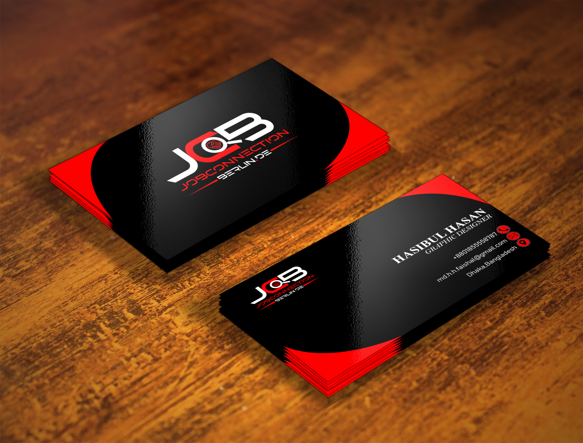 I will create professional business card and stationery design