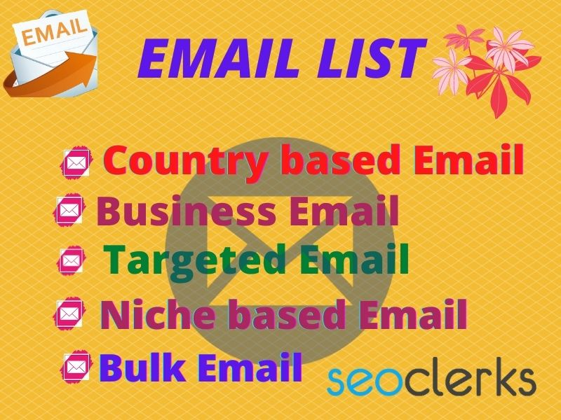 I will provide your targeted 1000 email as you want