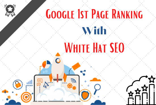 Google 1st Page Ranking With White hat SEO.