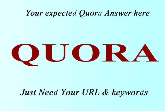I will Provide 5 High Quality Quora Answer