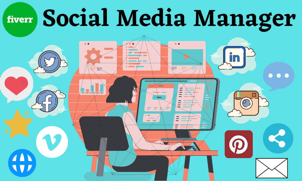Social media manager and virtual assistant