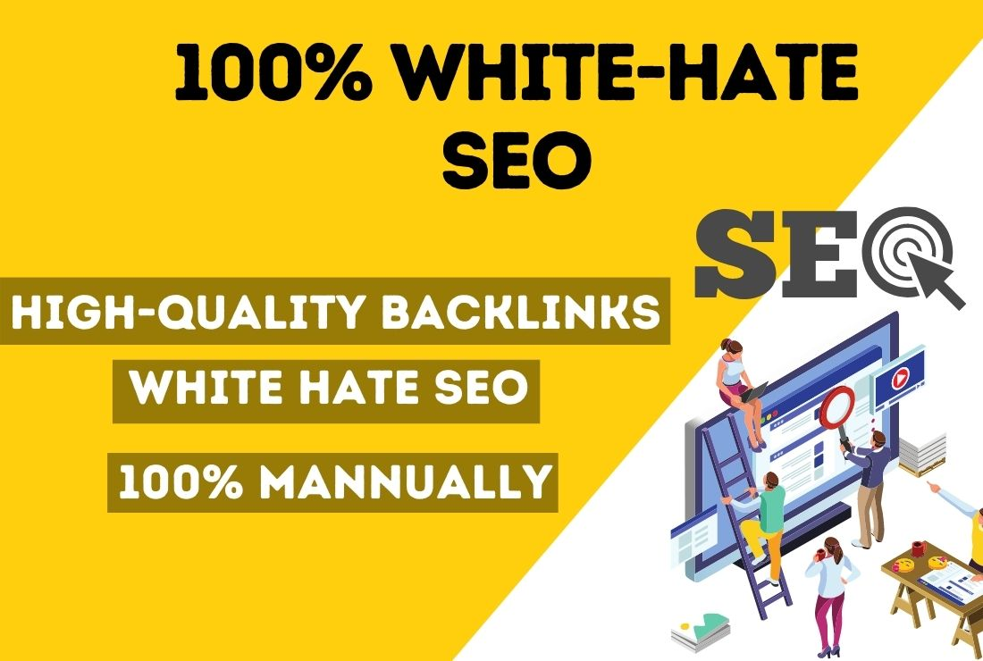 Google 1st page ranking with White-hate SEO link building service