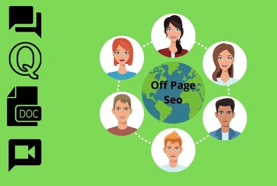 I will do monthly off page SEO service to rank your website