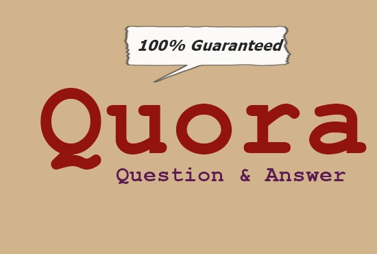 Promote your website niche related by 10 high quality Quora answer+upvote