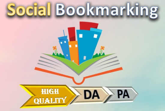 I will provide 50+ high quality dofollow SEO Bookmarking Backlinks for google top ranking