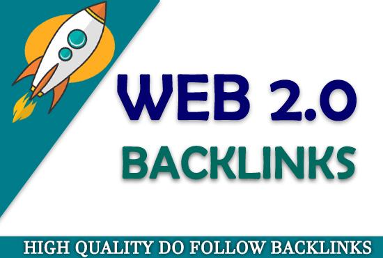 I will make 15 authority web 2 0 backlinks