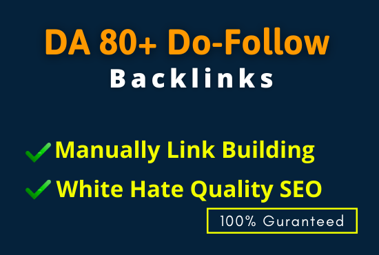 I will create 20 do-follow powerfull backlinks off page seo
