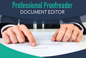 I Will Proofread Your Article And Other Documents