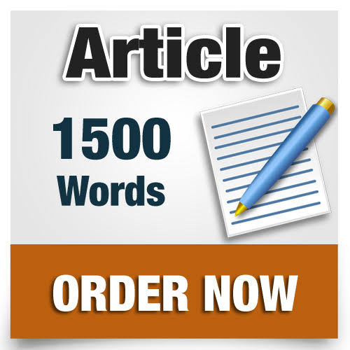I will write 150O words high quality article that is SEO optimized on any topic