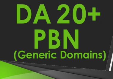 Provide 10 PBN High DA PA 20+ Home Page Dofollow Backlinks
